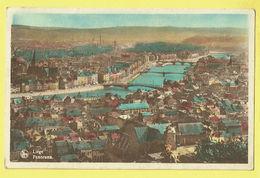 * Liège - Luik (La Wallonie) * (Nels, Ern Thill) Panorama, Vue Générale, Algemeen Zicht, Couleur, Pont, Canal, Quai - Liege