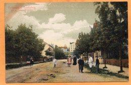 Sundbyberg Stationsgatan Sweden 1900 Postcard - Suède