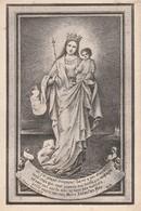 ALBERT EMMANUEL BOUCQUILLON ANVERS? 1851-1888-OPGELET-TEKST BESCHADIGD - Devotion Images