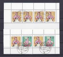 DDR - 1971 - Michel Nr. H-Bl 12/13 - Gestempelt - DDR