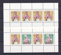 DDR - 1971 - Michel Nr. H-Bl 12/13 - Postfrisch - DDR