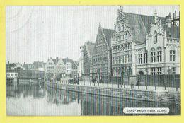 * Gent - Gand (Oost Vlaanderen) * (Huis Nagel & Esders) Maison Des Bateliers, Canal, Quai, Pont, Rare, Old - Gent