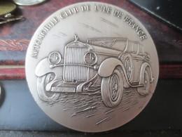 MEDAILLE AUTOMOBILE CLUB DE L'ILE DE FRANCE - GRAVEUR BUQUOY - - Professionnels / De Société
