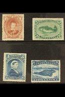 1876 - 9  1c - 5c Roulettes, SG 40/43, Very Fine Mint, Large Part Og. Scarce Set So Fine. (4 Stamps) For More Images, Pl - Newfoundland And Labrador