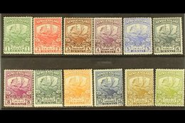 1919  Contingent Set Complete, SG 130/41, Very Fine And Fresh Mint. (12 Stamps) For More Images, Please Visit Http://www - Newfoundland And Labrador