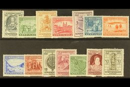 1933  Sir Humphrey Gilbert Set Complete, SG 236/49, Very Fine Mint. (14 Stamps) For More Images, Please Visit Http://www - Newfoundland And Labrador