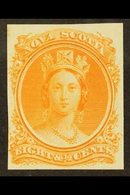 1860  8½c Orange Plate Proof, Uni 11TCvii, Very Fine With Clear Margins All Round. For More Images, Please Visit Http:// - Nova Scotia