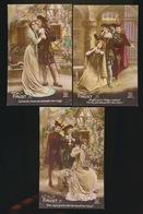 "Opéra - '' Faust "" - 5 Cartes  2 Scans - Opéra"
