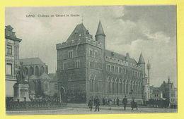 * Gent - Gand (Oost Vlaanderen) * (Edition H. Gisquière Gand 12619) Chateau De Gérard Le Diable, Rare, Old, Animée, TOP - Gent