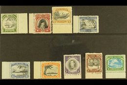 1944-46  Pictorial Definitive Set, SG 137/45, Never Hinged Mint (9 Stamps) For More Images, Please Visit Http://www.sand - Cook Islands
