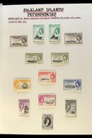 1954-1986 COMPLETE MINT COLLECTION  An Attractive, ALL DIFFERENT COMPLETE COLLECTION Presented Neatly On Album Pages. In - Falkland Islands