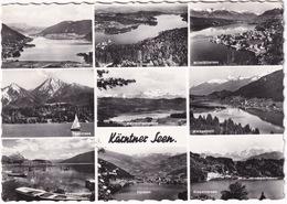 Kärnten Seen - Millstätter-,Ossiacher,Wörthersee,Weissensee,Keutschachersee,Faaker,Feldsee,Presseggersee,Klopeinersee - Millstatt