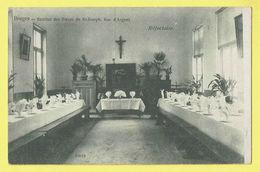 * Brugge - Bruges (West Vlaanderen) * (nr 10819) Institut Soeurs De Saint Joseph, Rue D'Argent, Réfectoir, Eetzaal, TOP - Brugge