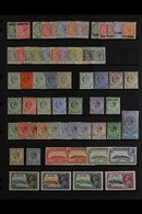 1886-1935 FINE MINT COLLECTION  Attractive Range Incl. 1886 Overprinted ½d & 1d, 1886-7 Set To 6d, 1889 5c On ½d To 40c  - Gibraltar