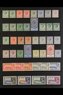 1912-35 OLD TIME MINT KGV SELECTION.  A Chiefly ALL DIFFERENT Selection Presented On A Stock Page That Includes 1912-24  - Gibraltar