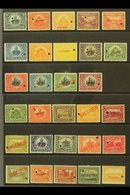 1906-1913 SPECIMEN OVERPRINTS.  1906-13, 1906-10 & 1910 Pictorials Complete Sets (Scott 125/44, 145/49 & 162/65, SG 132/ - Haiti
