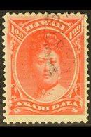 1883-6  $1 Rose-red, Scott 49, Fine Used With Part C.d.s. Cancel. For More Images, Please Visit Http://www.sandafayre.co - Hawaii