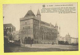 * Gent - Gand (Oost Vlaanderen) * (Cliché F. Walschaerts, Nr 13) Chateau De Gérard Le Diable, Kasteel, Rare, Old - Gent