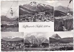 Luftkurort Seefeld, 1200 M - (Tirol) - Sessellift  - (1962) - Seefeld