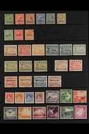 1916-1954 FINE USED ALL DIFFERENT COLLECTION  With 1916-23 (overprint At Foot) Range To 1s Including 1½d; 1923 (overprin - Nauru
