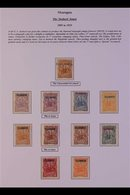 TELEGRAPH STAMPS COLLECTION  1891 TO 1956 Mint & Used Collection Of Telegraph Stamps, Or Stamps Utilised For Telegraph P - Nicaragua