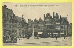 * Gent - Gand (Oost Vlaanderen) * (Nels, Ern Thill) Place Ste Pharailde, Hospice St Laurent, St Veerleplein, Vismarkt - Gent