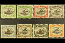 1909-10  Lakatoi Watermark Sideways, Perf 11 Set With Both ½d Shades, SG 59/65, Fine Cds Used. (8) For More Images, Plea - Papouasie-Nouvelle-Guinée