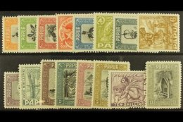 1932  Pictorial Set, SG 130/145, Extremely Fine Mint, The 10s Nhm. (16) For More Images, Please Visit Http://www.sandafa - Papouasie-Nouvelle-Guinée