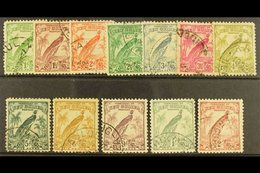 1932-34  (redrawn Without Dates) Set To 2s, SG 177/86, Good To Fine Used. (12 Stamps) For More Images, Please Visit Http - Papouasie-Nouvelle-Guinée