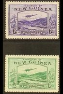 1935  £2 & £5 Air Bulolo Goldfields Set Complete, SG 204/05, Mint Lightly Hinged (2 Stamps) For More Images, Please Visi - Papouasie-Nouvelle-Guinée