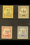AUSTRALIAN OCCUPATION  1914-15 Stamps Of German New Guinea Surcharged Mint Group Inc 1d On 3pf Brown (SG 16), 2d On 10pf - Papouasie-Nouvelle-Guinée