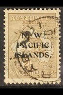 NSWI  1915-16 2s Brown Roo Watermark W5 Overprint, SG 91, Used, Good Centring, Fresh Colour. For More Images, Please Vis - Papouasie-Nouvelle-Guinée