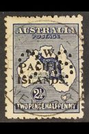 """NWPI  OFFICIAL 1919-23 2½d Indigo Roo Overprint, SG O7, Used With Nice """"Rabaul / New Britain"""" Cds Cancel, Some Shortish  - Papouasie-Nouvelle-Guinée"""