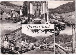 Navis I. Tirol: Kirche, Navis, Christus V. Bachlehner, Geg. Serles, Geg. Stubaier - (1962) - Matrei Am Brenner