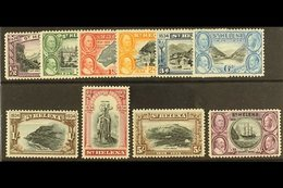 1934  Centenary Set Complete, SG114/23, Mint Lightly Hinged (10 Stamps) For More Images, Please Visit Http://www.sandafa - Saint Helena Island