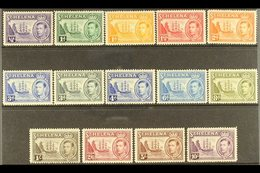 """1938-44  """"Badge Of St Helena""""complete Set, SG 131/40, Very Fine Mint (14 Stamps) For More Images, Please Visit Http://w - Saint Helena Island"""
