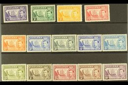 1938-44  KGVI Definitive Complete Set, SG 131/40, Never Hinged Mint (14 Stamps) For More Images, Please Visit Http://www - Saint Helena Island