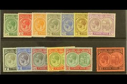 1920-22  Complete Set, SG 24/36, Very Fine Mint. (13) For More Images, Please Visit Http://www.sandafayre.com/itemdetail - St.Kitts And Nevis ( 1983-...)