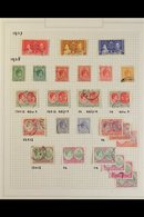1937-69 USED COLLECTION.  A Useful, Used Collection With Sets, Paper & Perf Variants Presented On Album Pages. Includes  - St.Kitts And Nevis ( 1983-...)