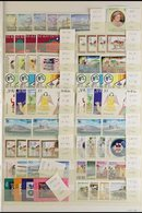 1980-1995 NEVER HINGED MINT COLLECTION  A Chiefly ALL DIFFERENT Collection Of Commemorative Sets & Miniature Sheets Pres - St.Kitts And Nevis ( 1983-...)