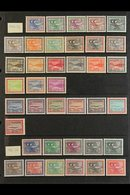 1964-1967 DEFINITIVE ISSUES.  NEVER HINGED MINT COLLECTION On Stock Pages, All Different, Includes 1964-72 Gas Oil Plant - Saudi Arabia