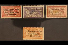 1923  Syria- Grand Liban Airmail Set Complete, 2½ Mm Spacing, SG 114/7, Very Fine Mint. (4 Stamps) For More Images, Plea - Syria