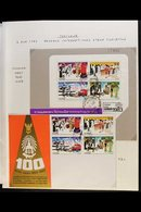 1983-2015 MOTORCYCLE TOPICAL COLLECTION  A Most Interesting Topical Collection With Stamps Inc Commercial Covers, First  - Thailand