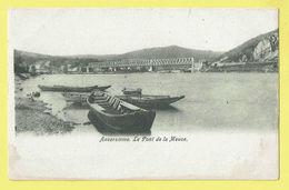 * Anseremme (Dinant - Namur - La Wallonie) * Le Pont De La Meuse, Bridge, Brug, Canal, Quai, Bateau, Rare, Old, CPA - Dinant