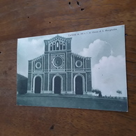 Cartolina Postale 1930 Circa, Cortona Chiesa Di S. Margherita - Arezzo