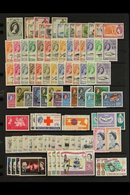 1952-1971 COMPLETE SUPERB MINT COLLECTION  On Stock Pages, All Different, COMPLETE From 1953 Coronation Through To 1971  - Tristan Da Cunha