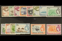 1954  Complete Pictorial Definitive Set, SG 14/27, Never Hinged Mint. (14 Stamps) For More Images, Please Visit Http://w - Tristan Da Cunha