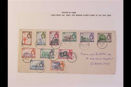 1960-1998 FIRST DAY COVERS COLLECTION  A Clean And Attractive Collection Well Written Up On Album Pages, Starts With The - Tristan Da Cunha