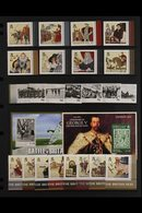 2010-17 NEVER HINGED MINT COLLECTION  ALL DIFFERENT & COMPLETE Except For 2012 Sinking Of The Titanic Miniature Sheet, I - Tristan Da Cunha