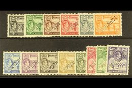 """1938  Geo VI Complete, Perforated """"Specimen"""", SG 194s/205s, Very Fine Mint, Large Part Og. (14 Stamps) For More Images,  - Turks And Caicos"""